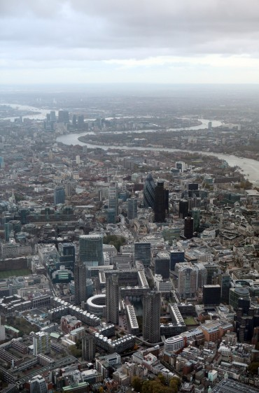 General Aerial Views Across London