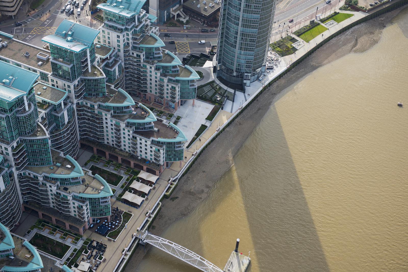 George Wharf, Vauxhall, Londra