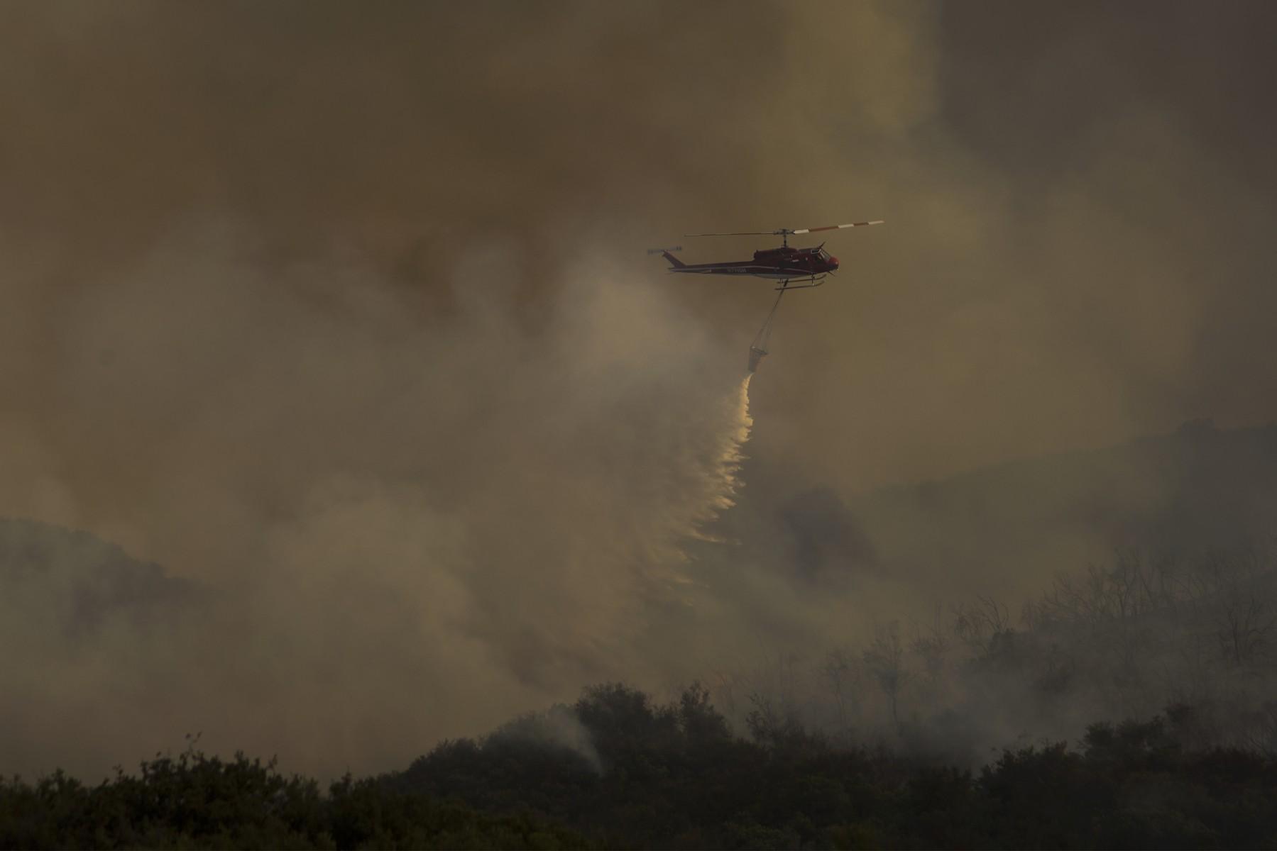 incendi estivi California